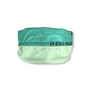 Beadbags Universal- Pflanzenbehälter aus recycelten Reissack Ri33 Hellgrün 8 vorne gekrempelt