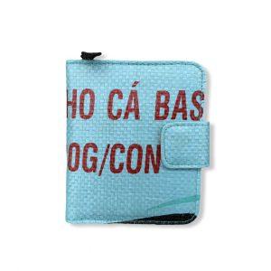 Beadbags Geldbörse aus recycelten Reissack Ri12 vorne