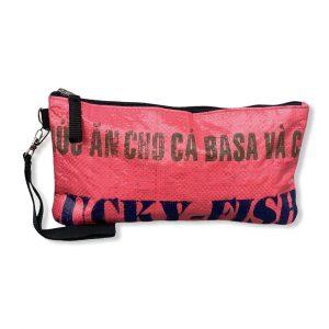 Reisecase mit Handschlaufe aus recycelten Reissack | Beadbags