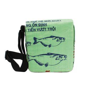 Upcycling beadbags Tragetasche aus recyceltem Reissackmaterial gefertigt in Kambodscha 26cccc