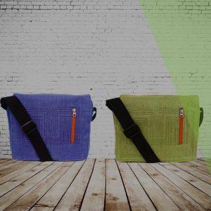 Taschen & Co.: tropisches Fischnetz: Beadbags Crispy