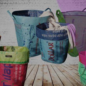 Wäschesäcke-Tragetaschen