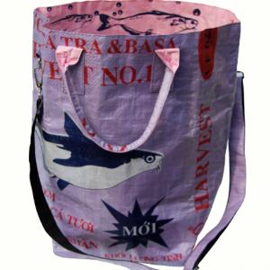 Beadbags Crispy Laundry Sacs with shoulder strap Landryb. Gurt. lila
