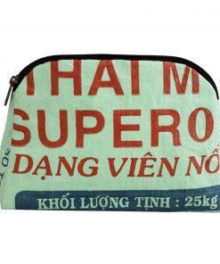Upcycling beadbags Tragetasche aus recyceltem Reissackmaterial gefertigt in Kambodscha 8cccc