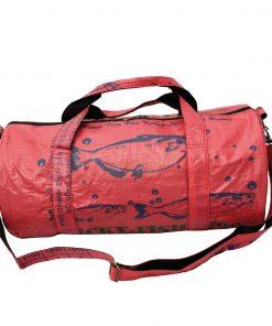 Upcycling beadbags Tragetasche aus recyceltem Reissackmaterial gefertigt in Kambodscha 38ccc