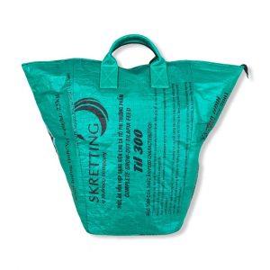 Beadbags Universaltasche/ Wäschesack mit Schultergurt aus recycelten Reissack Ri7 | Beadbags