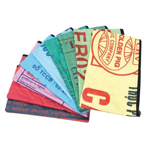 Beadbags Crispy, Ricesack, Federmappe, Kosmetiktäschchen, nachhaltig und fair