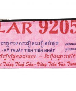Upycycling Beadbags nachhaltige Tragetasche und Kosmetiktaschen aus recyceltem Reissackmaterial gefertigt in Kambodscha 24bb