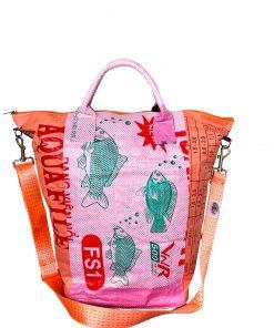 Upcycling Tampenjan Universaltaschen und Wäschesäcke aus recycltem Reissackmaterial und recycelten Spanngurten aus dem Hamburger Hafen 27 TJ