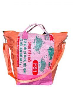 Upcycling Tampenjan Universaltaschen und Wäschesäcke aus recycltem Reissackmaterial und recycelten Spanngurten aus dem Hamburger Hafen 24 TJ