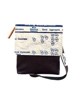 Upycycling Beadbags nachhaltige Tragetasche aus recyceltem Zementsackmaterial gefertigt in Kambodscha 11