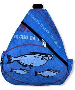 Beadbags Upcycling Vorne Ri71 blau