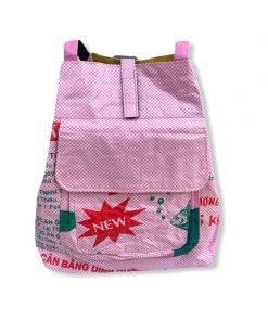 Beadbags Rucksack Ri3 pink vorne