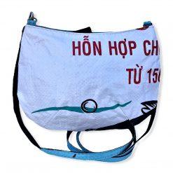 Beadbags Upcycling Sweet shoulderbag Ri86 Hinten