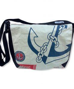 Beadbags Umhängetasche Kunstleder- Zementsackmaterial CR2 Vorne
