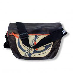 Beadbags Umhängetasche Kunstleder- Zementsackmaterial CRL5 Vorne