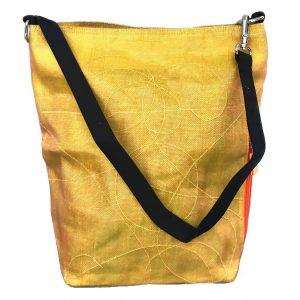 Beadbags Upcycling Schultertasche Net3