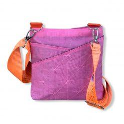 Beadbags Schultertasche aus recycelten Moskitonetzmaterial Net11 02