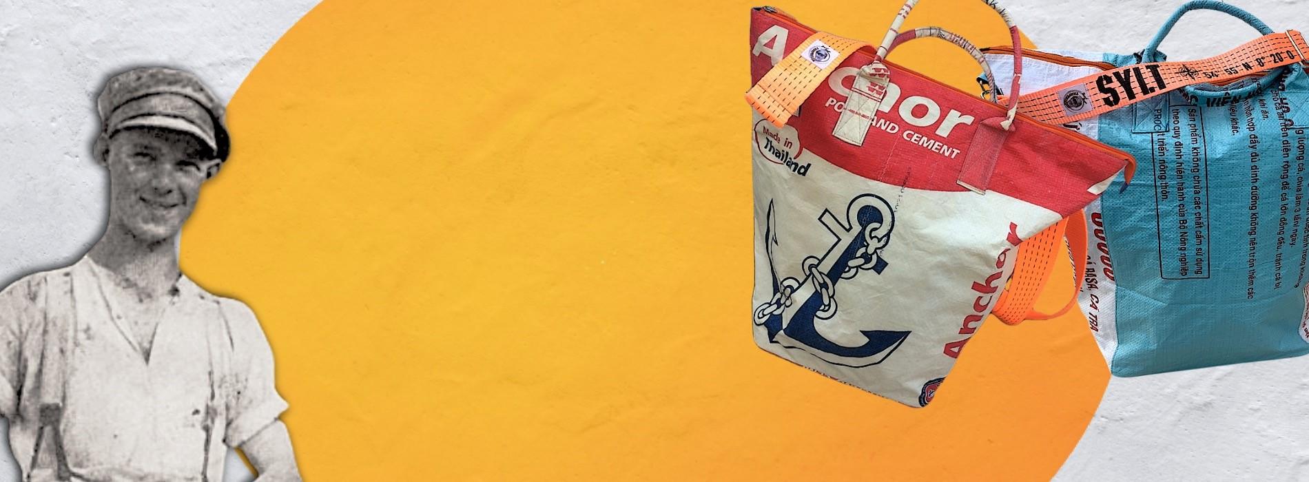 Beadbags Tampenjan Hochseetaschen mit Gurten
