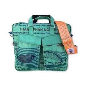 Beadbags Twin Pockets aus recycelten Reissackmaterial Ri84 001