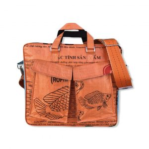 Beadbags Twin Pockets aus recycelten Reissackmaterial Ri84 003