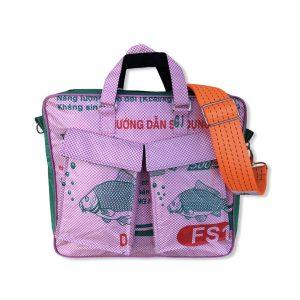 Beadbags Twin Pockets aus recycelten Reissackmaterial Ri84 006