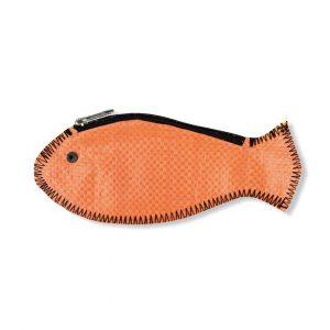 Beadbags Fisch Geldbörse aus recycelten Reissack Ri80 Orange Links