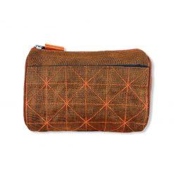 Beadbags Kosmetiktasche aus reused Moskitonetz NET19 Orange vorne