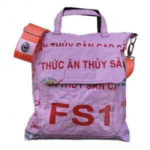 Beadbags Schultertasche Filling Bag mit Hafengurt vorne